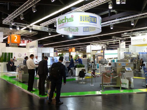 Fuchs AG booth at the POWTECH